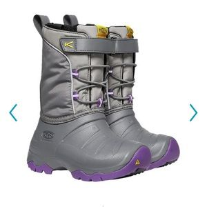 Keen Girls' Lumi Waterproof Winter Boots
